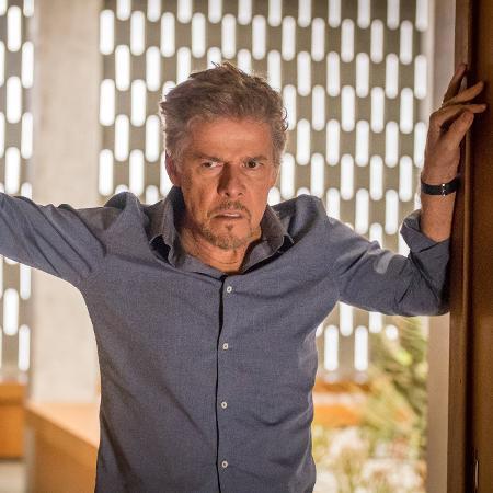 """Tião (José Mayer) em """"A Lei do Amor"""" - Paulo Belote/Divulgação/TV Globo"""