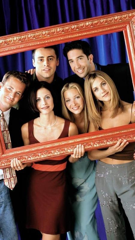 """Elenco da série """"Friends"""" - Divulgação"""