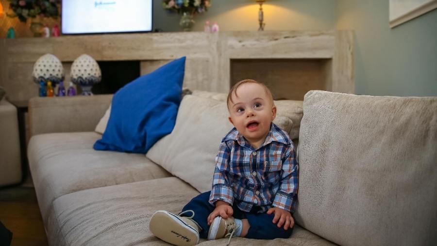 """Lucca é o novo """"bebê Johnson"""" - Raphael Castello/AgNews"""