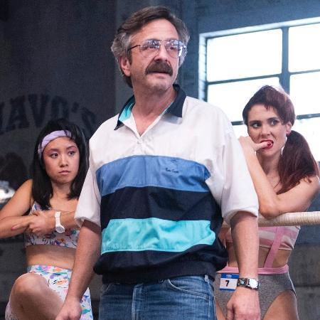 """Marc Maron como Sam Sylvia em """"GLOW"""" - Divulgação/Netflix"""