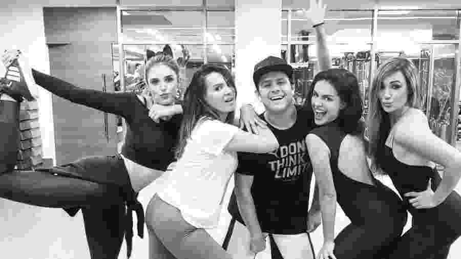 Rafa Brites, Anni de Castro, Justin Neto, Paloma Bernardi e Josie Pessôa - Reprodução/Instagram