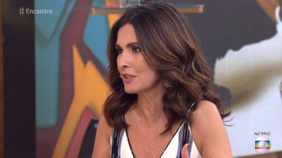 """Fátima mostrou indignação aos comentários contra Titi o """"Encontro"""" - Reprodução/Globo"""