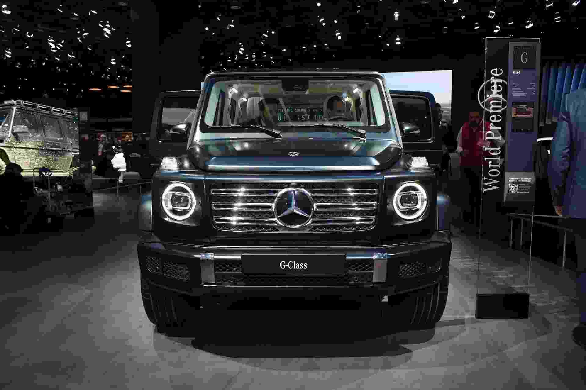 Mercedes-Benz Classe G 2019 - Murilo Góes/UOL