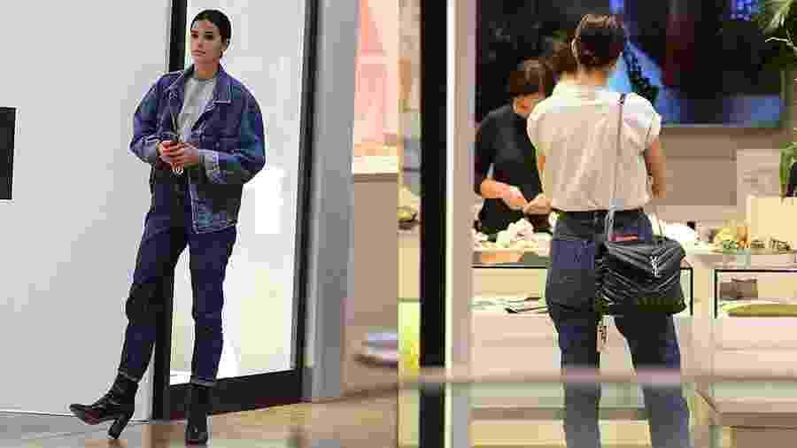 Bruna Marquezine vai às compras com bolsa de grife - Webert Belicio /Ag.News