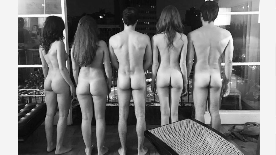 Gabriela Cerqueira, Gabriella Vergani, Kauê Telloli, Michelle Batista e Erom Cordeiro  - Reprodução/Instagram