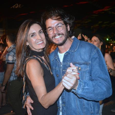 Fátima Bernardes dança forro coladinha com Túlio Gadelha em Recife - Felipe Souto Maior/AgNews