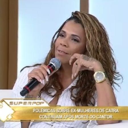 Silvia Regina, ex de Catra - Reprodução/RedeTV