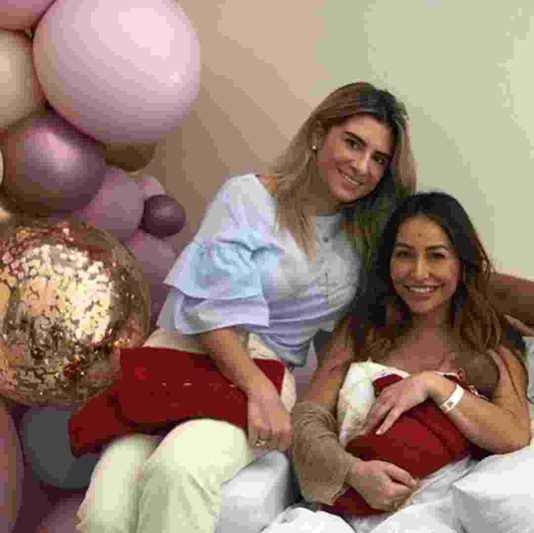 Sabrina Sato com cunhada em maternidade - gabipaludeto/Reprodução Instagram