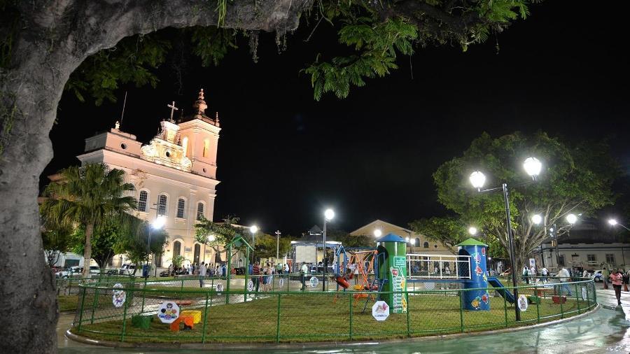 Praça Santo Antônio Além do Carmo, em Salvador - Max Haack/Secom/Divulgação