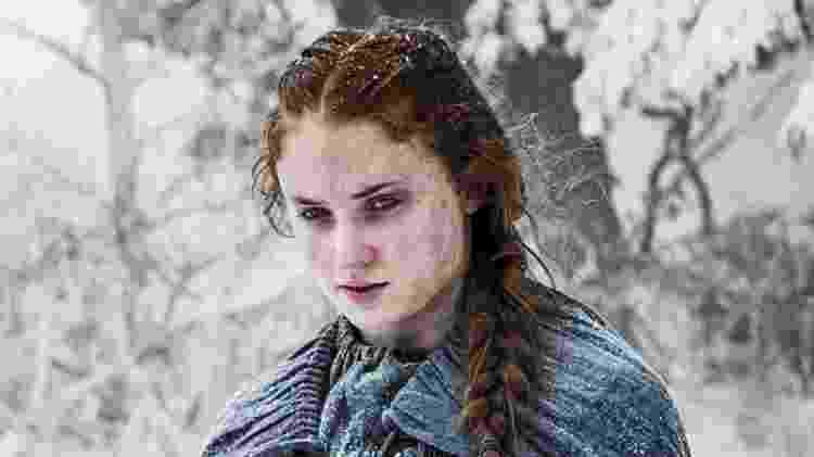 """Sansa (Sophie Turner) na quinta temporada de """"Game of Thrones"""" - Divulgação - Divulgação"""