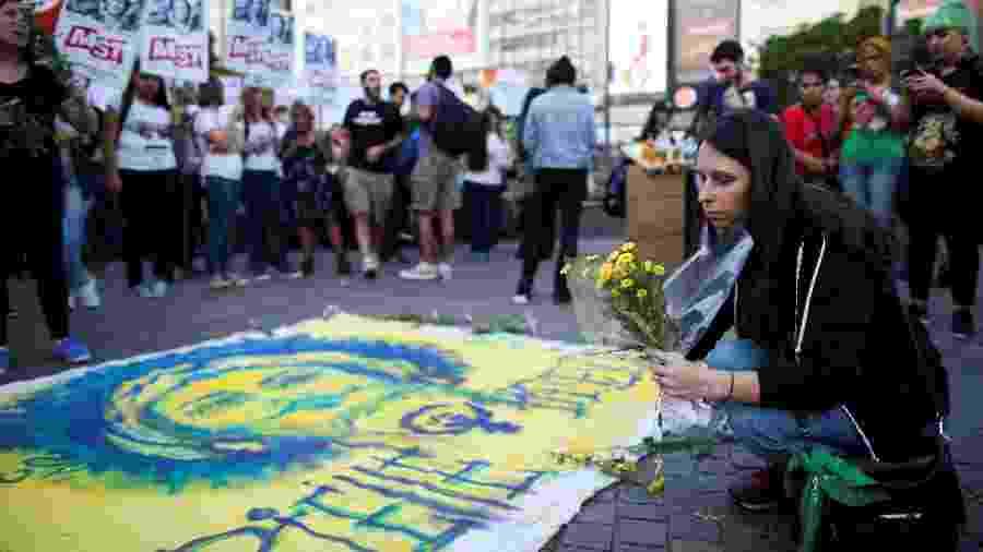 Buenos Aires tem manifestações em memória de Marielle Franco - Reuters