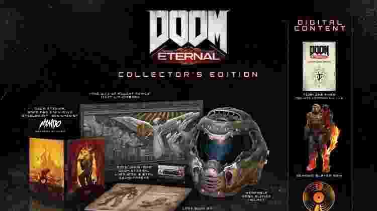 Doom Eternal Colecionador - Reprodução - Reprodução