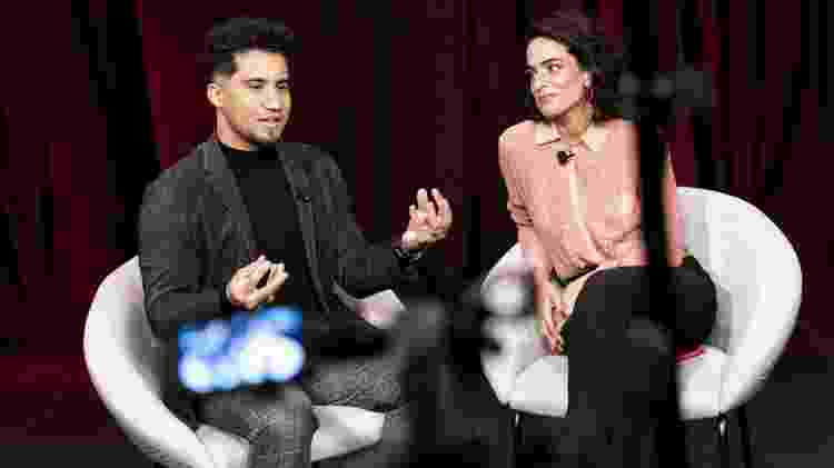 Kondzilla e Rita Moraes em entrevista ao UOL sobre a série Sintonia, da Netflix - Rafael Roncato/UOL