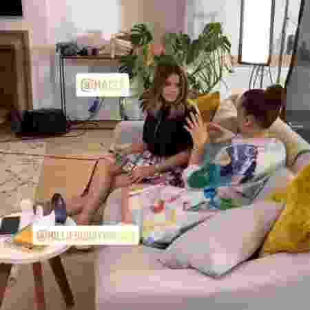 Maisa conversa com Millie Bobby Brown - Reprodução/Instagram/guilhermemostrese