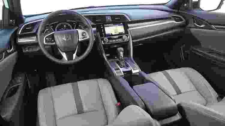 Honda Civic Touring cabine - Murilo Góes/UOL - Murilo Góes/UOL