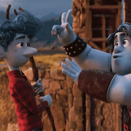 Trecho da animação Dois Irmãos, da Disney Pixar - Reprodução/Youtube/Walt Disney Studios BR - Reprodução/Youtube/Walt Disney Studios BR