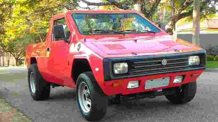 Picape Formigão está anunciada em site de classificados por R$ 18,9 mil; Modelo usa chassi e mecânica da VW - Reprodução