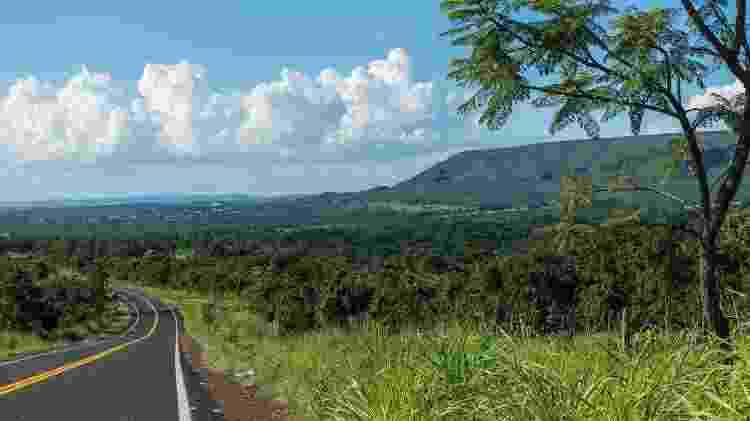 Vista da Serra de Caldas Novas, entre Rio Quente e Caldas Novas - Pablo Regino/Mtur - Pablo Regino/Mtur