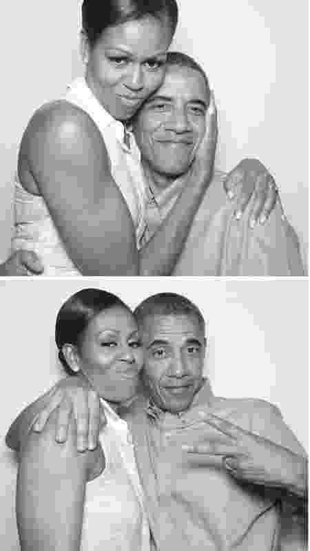 Michelle Obama e Barack - REPRODUÇÃO/INSTAGRAM - REPRODUÇÃO/INSTAGRAM