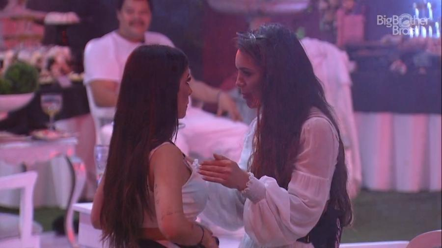 Bianca Andrade e Rafa Kalimann têm DR - Reprodução/Globoplay