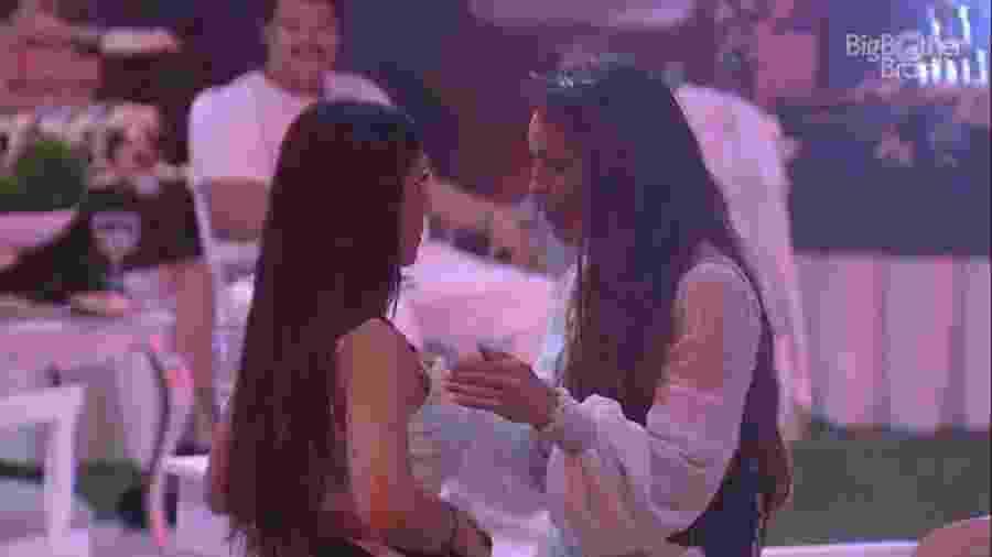 Bianca Andrade e Rafa Kalimann em DR - Reprodução/Globoplay