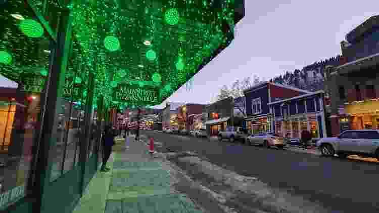 Main Street, em Park City - Marcel Vicenti/UOL - Marcel Vicenti/UOL