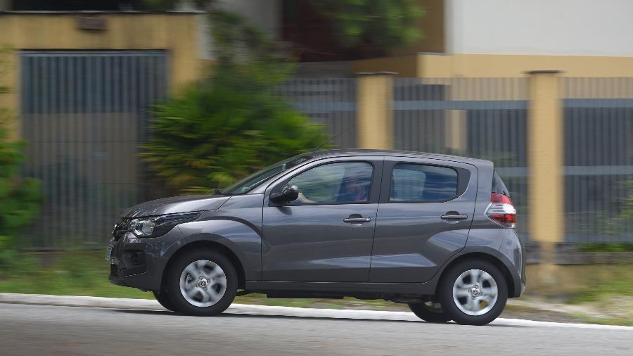 Fiat Mobi Drive - Murilo Góes/UOL