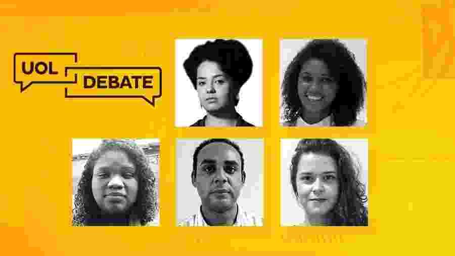 UOL Debate - enfrentamento da pandemia nas favelas brasileiras - Arte/UOL