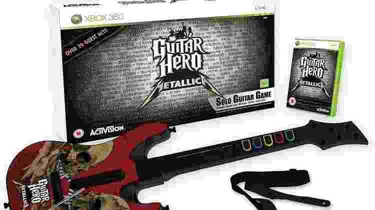 Guitar Hero Metallica - Reprodução - Reprodução