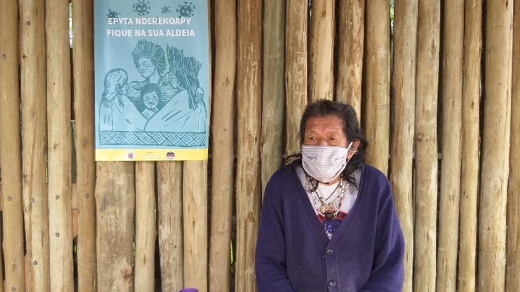 Morador da TI Piaçaguera, em Peruíbe (SP) - Vivência na Aldeia - Vivência na Aldeia