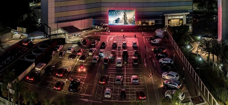 Villa Open Air foi inaugurado em julho no estacionamento de shopping em SP - Divulgação