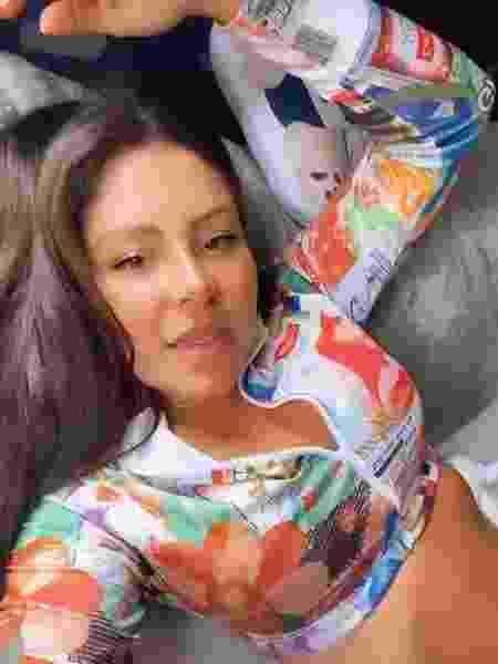 Andressa Miranda exibe blusa nas redes sociais - Reprodução/Instagram @andressaferreiramiranda