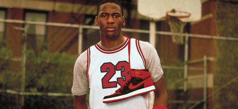 O Air Jordan Nike acompanhou não só o crescimento na carreira de Michael Jordan como para a marca esportiva - Reprodução