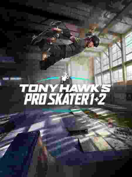 capa do game Tony Hawk's Pro Skater 1 + 2 - Divulgação/Activision - Divulgação/Activision