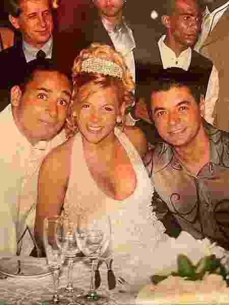 David Brazil publicou foto do casamento de Xanddy e Carla Perez em seu Instagram - Reprodução/Instagram
