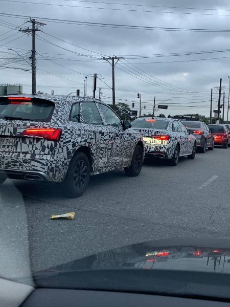 Flagra Audi A4 e Q5 - Artur Diniz