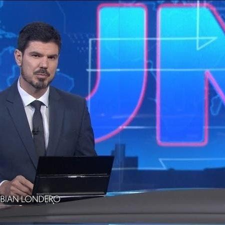 O jornalista Fabian Londero  - Reprodução/TV Globo
