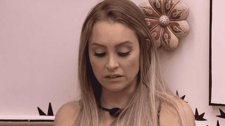 BBB 21: Carla Diaz lamenta conflitos com Lumena - Reprodução/ Globoplay - Reprodução/ Globoplay