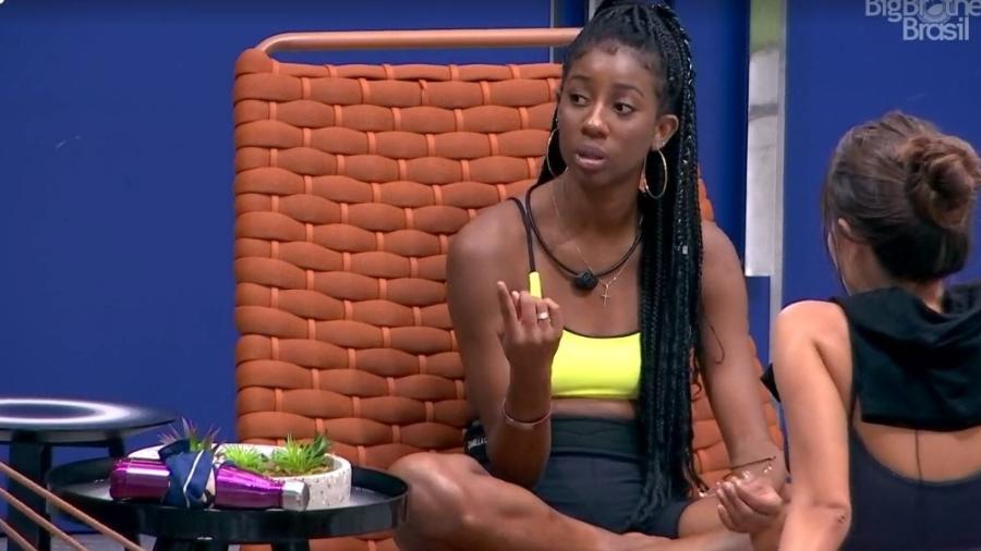 BBB 21: Camilla de Lucas conversa com Viih Tube e Thaís - Reprodução/ Globoplay