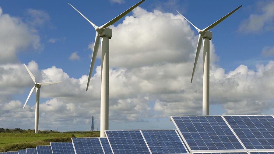Uso de energias solar e eólica devem crescer - Divulgação/ Governo Britânico