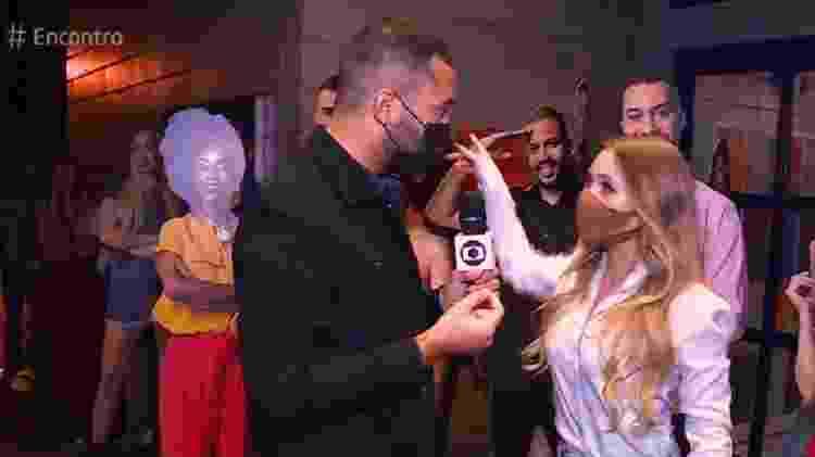 BBB 21: Gil pede totem de Arthur para Carla Diaz - Reprodução/TV Globo - Reprodução/TV Globo