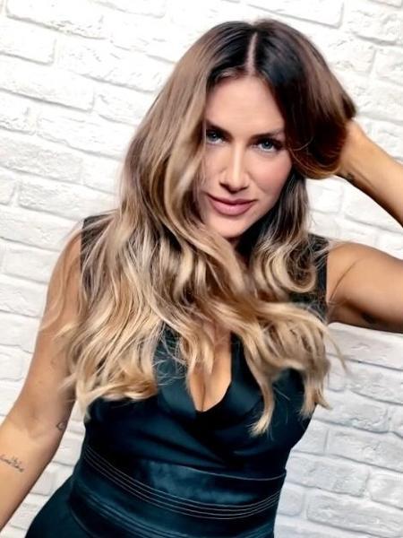 Giovanna Ewbank mostrou novo visual - Divulgação/L?Oréal Professionnel