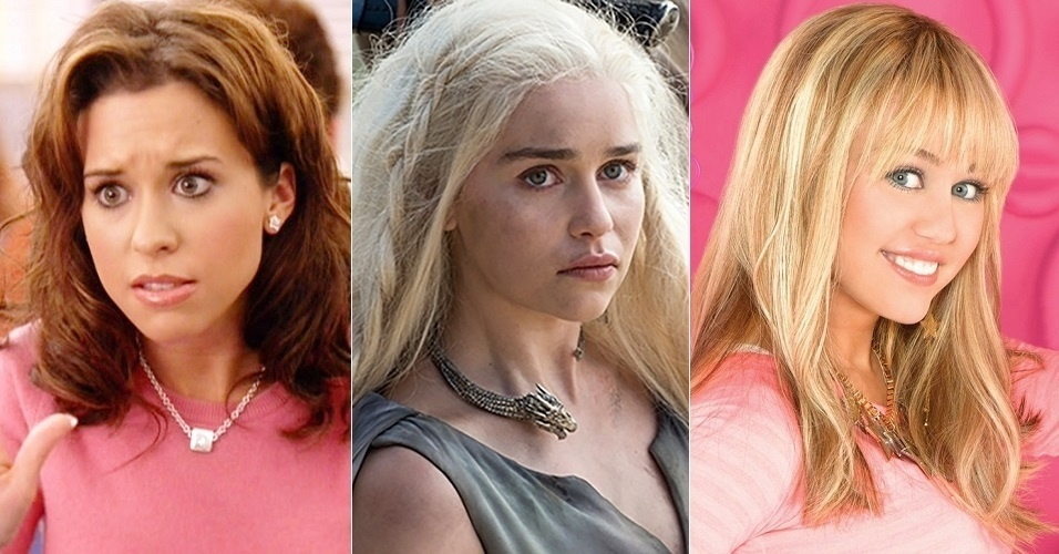 """Antes da mudança, Daenerys Targaryen (Emilia Clarke) era dublada por Carol Crespo, voz de Lacey Chabert em """"Meninas Malvadas"""". Na sexta temporada, tem a voz de Hannah Montana... ou melhor, Tatiane Keplmair"""