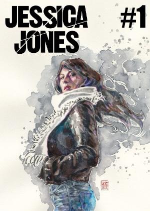 Capa da primeira edição da nova série de quadrinhos da personagem Jessica Jones - Divulgação