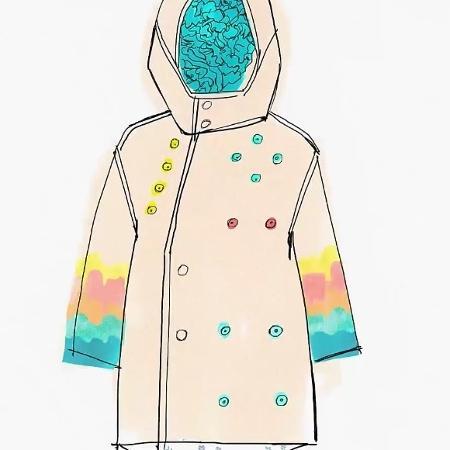 Cada ponto da jaqueta digital leva a um jogo que estimula o cérebro da criança - Divulgação/theuniform.org