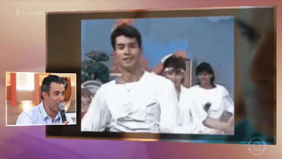 Marcos Paquim relembra época em que foi vocalista de boyband Explosão, nos anos 1980 - Reprodução/TV Globo