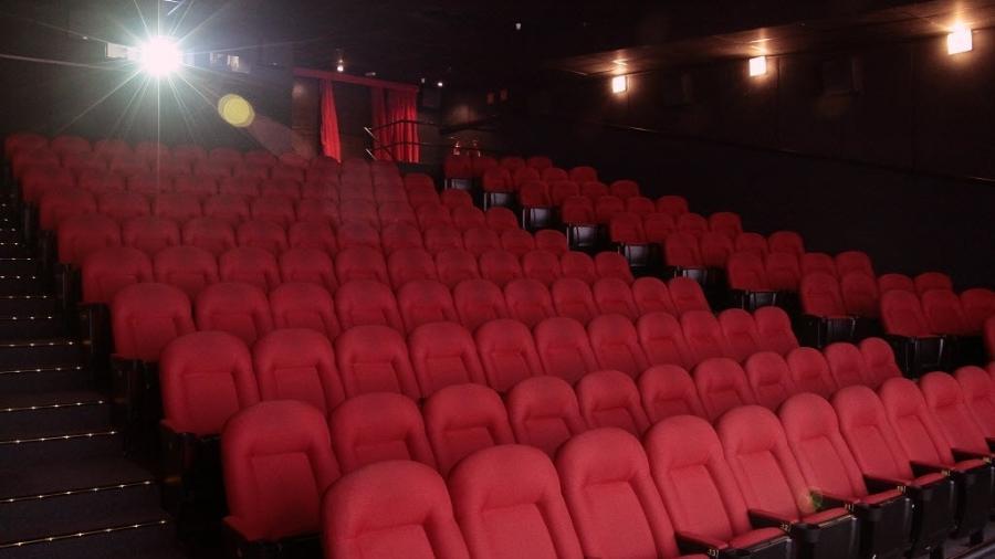 Sala do cinema Reserva Cultura, na avenida Paulista, em São Paulo - Carlos Barretta/Hype/Folhapress