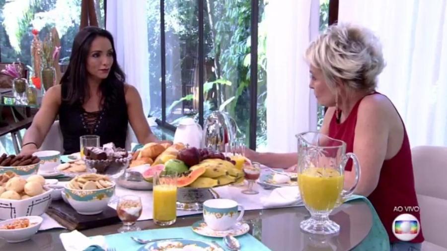"""Marinalva participa do """"Mais Você""""  - Reprodução/Globo"""