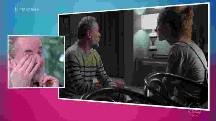 """Dan Stulbach chora no """"Mais Você"""" ao ver desabafo de Ivana em """"A Força do Querer"""" - Reprodução/TV Globo"""
