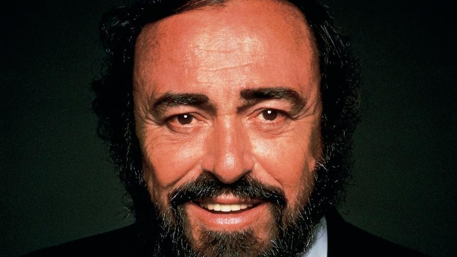 O cantor de ópera Luciano Pavarotti - Divulgação